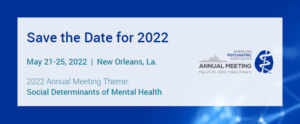 Julio Licinio APA Annual Meeting 2022